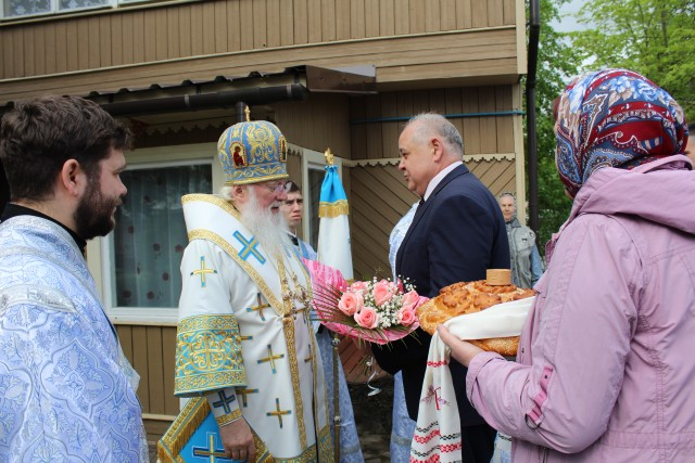 В Георгиевском храме г. Старая Русса состоялось празднование в честь Старорусской иконы Божией Матери